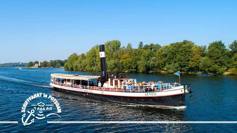 Die Schlösserrundfahrt (Dampfschiff GUSTAV)
